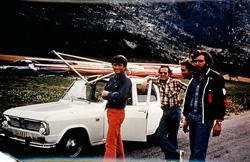 1975 - Atterro après premier vol